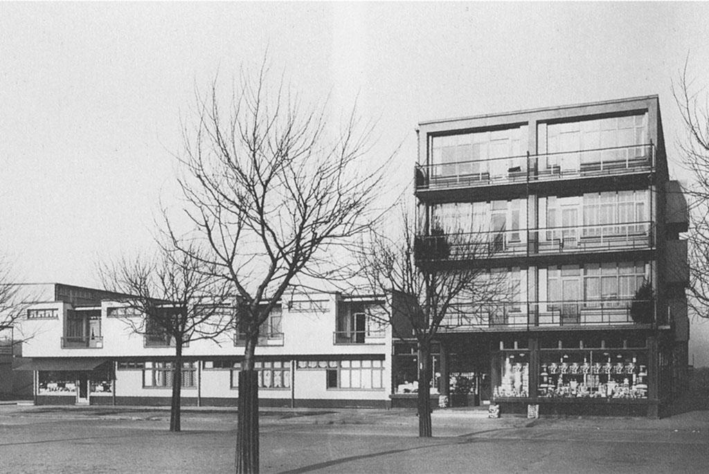 Mart Stam / Wohnhäuser in der Hellerhofsiedlung Frankfurt, 1929-32